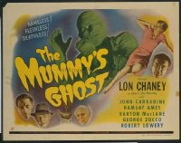 v027 MUMMY'S GHOST  1/2sh '44 Lon Chaney, horror!