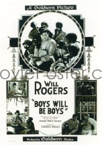 244 BOYS WILL BE BOYS ('21) linen 1sheet