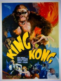 #164 KING KONG Czech '33 Fay Wray, Armstrong