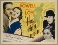 v057 THIN MAN  1/2sh '34 William Powell, Myrna Loy