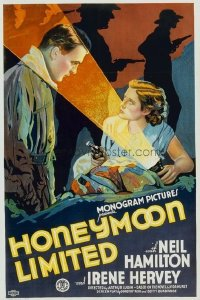 189 HONEYMOON LIMITED paperbacked 1sheet