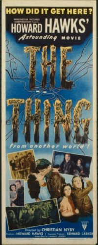 v145 THING ('51)  insert '51 Howard Hawks classic!