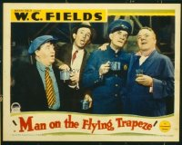 #185 MAN ON THE FLYING TRAPEZE lobby card '35 W.C. Fields!