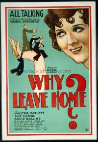 010 WHY LEAVE HOME linen 1sheet