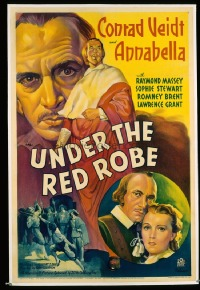 085 UNDER THE RED ROBE ('37) linen 1sheet