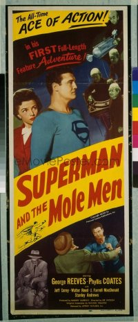 346 SUPERMAN & THE MOLE MEN insert
