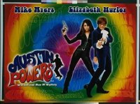 v318 AUSTIN POWERS: INT'L MAN OF MYSTERY DS British quad '97