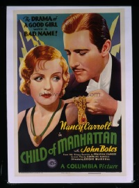 663 CHILD OF MANHATTAN linen 1sheet