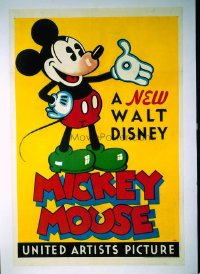 263 NEW WALT DISNEY MICKEY MOUSE linen 1sheet
