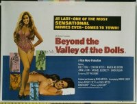 v277 BEYOND THE VALLEY OF THE DOLLS  British quad '70