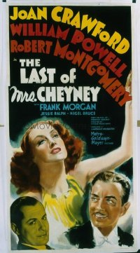 202 LAST OF MRS. CHEYNEY ('37) linen 3sh