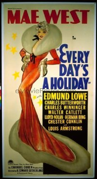 143 EVERY DAY'S A HOLIDAY ('37) linen 3sh
