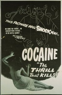 218 COCAINE: THE THRILL THAT KILLS 1sheet