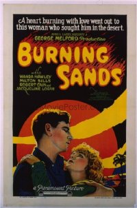 068 BURNING SANDS linen 1sheet