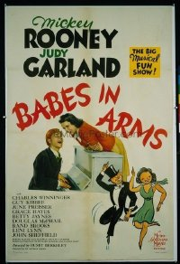 113 BABES IN ARMS ('39) linen 1sheet