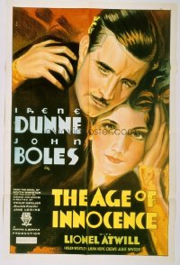 014 AGE OF INNOCENCE ('34) 1sheet
