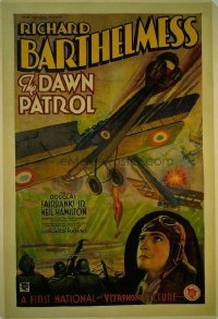 089 DAWN PATROL ('30) linen 1sheet