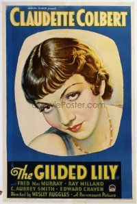 325 GILDED LILY ('35) linen 1sheet