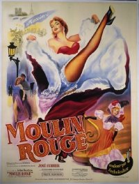 215 MOULIN ROUGE linen French 1p R50s
