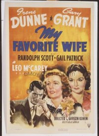 096 MY FAVORITE WIFE paperbacked 1sheet