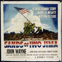 253 SANDS OF IWO JIMA linen 6sh