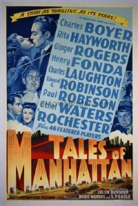 029 TALES OF MANHATTAN linen 1sheet