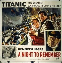 211 NIGHT TO REMEMBER ('58) linen English 6sh