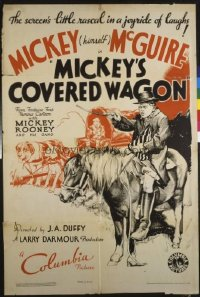 235 MICKEY'S COVERED WAGON 1sheet