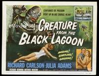 v047a CREATURE FROM THE BLACK LAGOON  TC '54 classic!